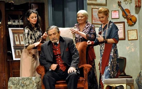 Az öreg Ráber megszelídítése (Szabó Erika, Dengyel Iván, Almási Éva, Murányi Tünde)