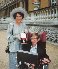 Jane-nel a Buckingham palotában a Companion of Honour rend tagságának elnyerésekor