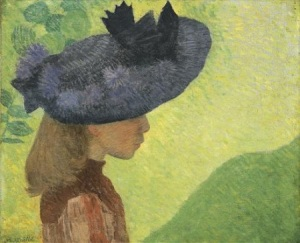Maillol: Mademoiselle Faraill kalapban