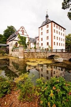 Az egyik helyszín: a kastély Kochbergben