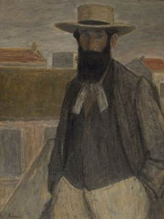 Rippl-Rónai József: A. Maillol portréja (1899)