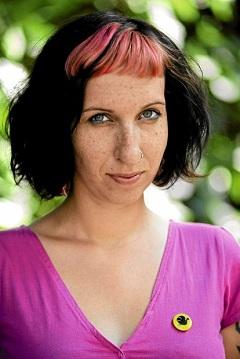Sylwia Chutnik (Fotó: Adam Kozak)