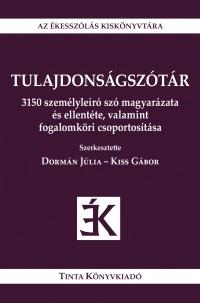 Dormán.Kiss_Tulajdonságszótár-bor180