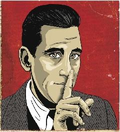 J. D. Salinger – Shane Salerno róla szóló filmjének plakátján