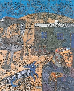 Askar Esdaulet: Az Aul (Falu) sorozatból (1962)