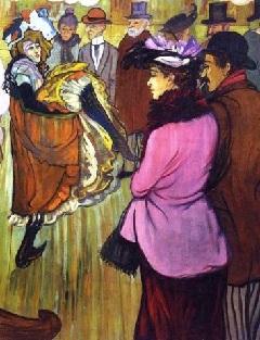 Toulouse-Lautrec festménye a mulatóról