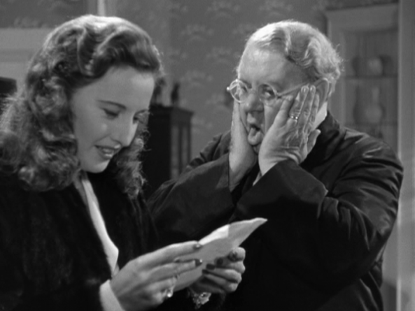 Barbara Stanwyck-kel a Christmas in Connecticut-ban