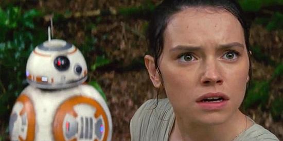Daisy Rildey (Rey) és BB-8 (1)