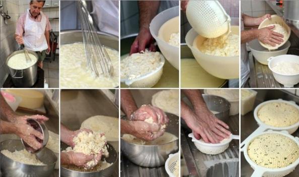 A sajtkészítés ínycsiklandó fázisai (Kattints rá, hogy nagyobb méretben lásd!)