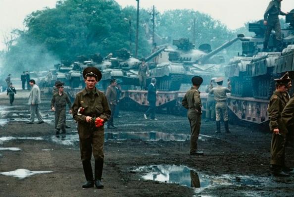 Az utolsó orosz katonai hadosztály kivonulása Magyarországról