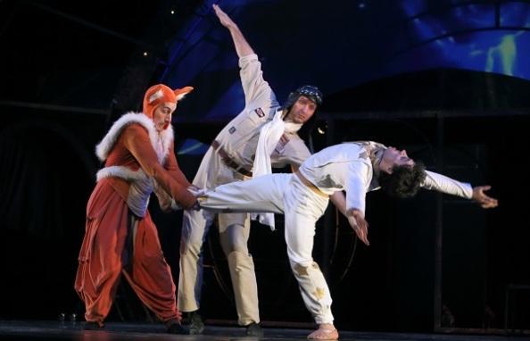 A holnap Pécsi Balettje: A kis herceg (Kerekes Soma Lőrinc, Harka Máté, Matola Dávid)