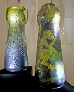 Pán a ligetben, váza (CsL)