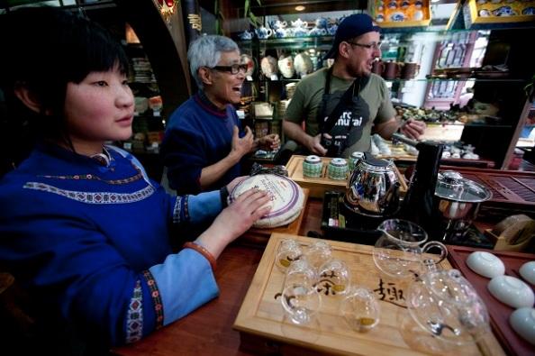 Sanghaji teavásárlás
