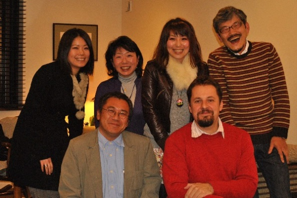 Takehiko lakásában 2010