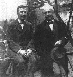 Hugo von Hoffmansthal és Richard Strauss, 1915
