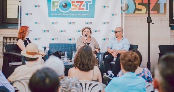Közönségtalálkozó Csákányi Eszterrel (fotó: POSZT/ Hegyi Júlia Lily)