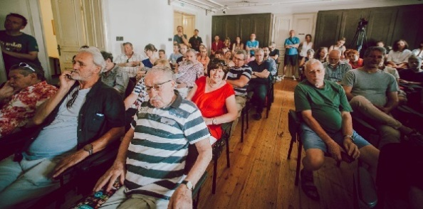 Nyílt szakmai fórum a Művészetek Házában (fotó: POSZT/ Hegyi Júlia Lily)