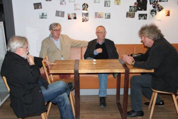 össz-hang megbeszélés Parti Nagy Lajos, Gyorgy Spiro, Pál Závada, László Dés