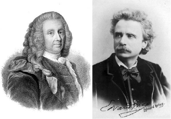 Ludvig Holberg és Edvard Grieg