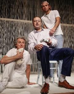 A család: Nádasi Iván, Katona László, Tasnádi Bence