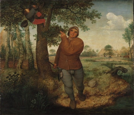 id. P. Bruegel: A fészekfosztogató