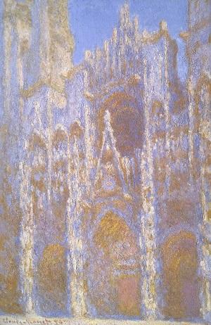 Claude Monet: A rouen-i katedrális nappal (1893), Tompkins gyűjtemény