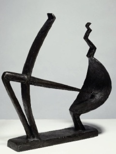 Alberto Giacometti: Férfi és nő (1928-29)