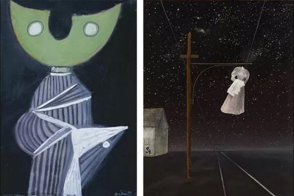 Bálint Endre: Holdfejű (1940) Ország Lili: Rózsaszín ruha (1956)