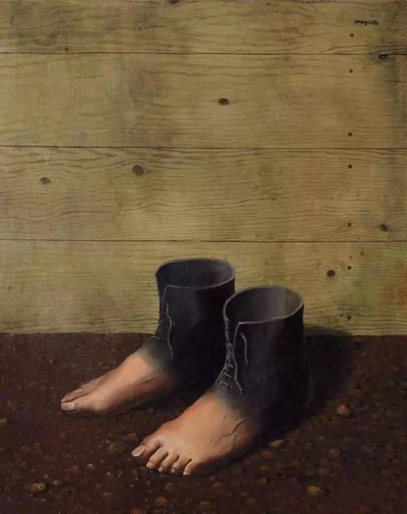 René Magritte: A vörös modell (1935)