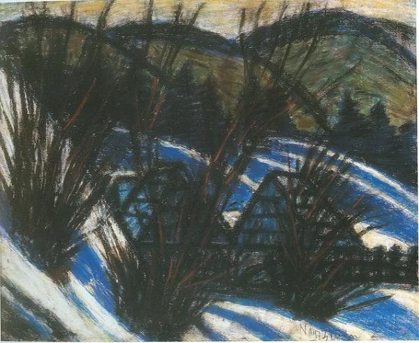 Dombok kék árnyékokkal, 1920-as évek második fele