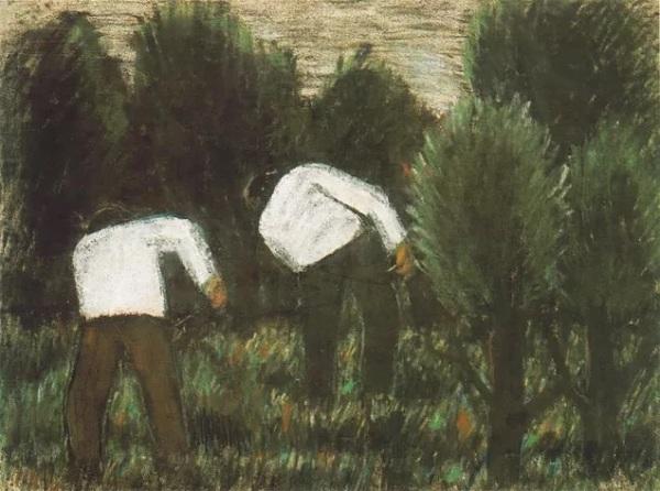 Fűkaszálók, 1927 körül